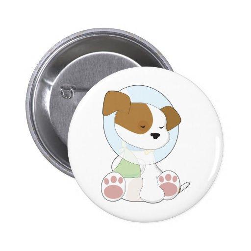 Cute Puppy Cone Pin