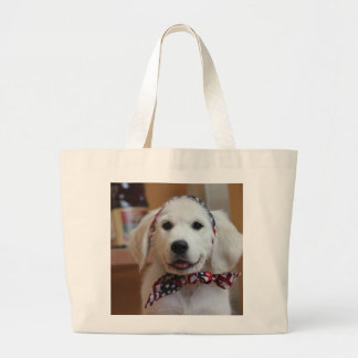 Cute puppy - create your own gifts jumbo tote bag