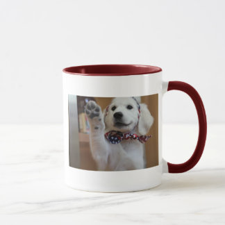 Cute puppy - create your own gifts mug