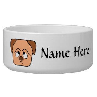 Cute Puppy Dog. Bowl