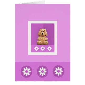 Cute Puppy Dog Greeting Card