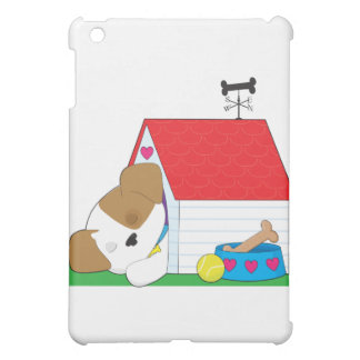 Cute Puppy Dog House Case For The iPad Mini
