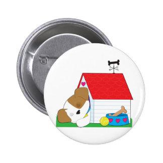 Cute Puppy Dog House Pins