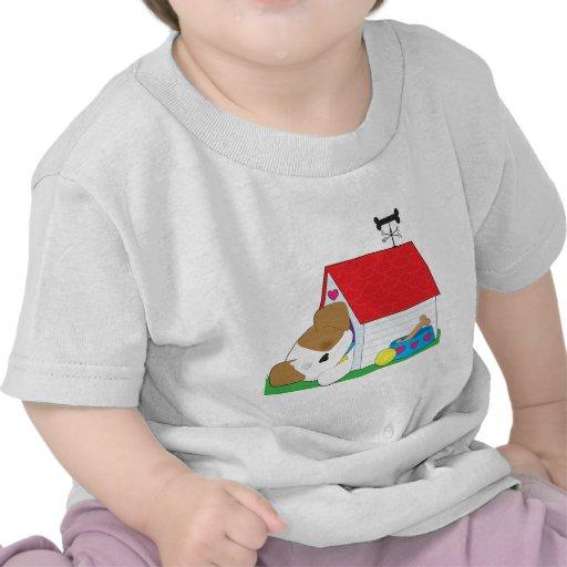 Cute Puppy Dog House T-shirt