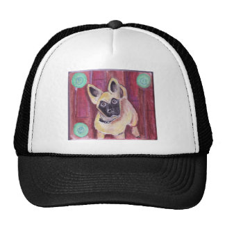 Cute Puppy Dog Painted Hat