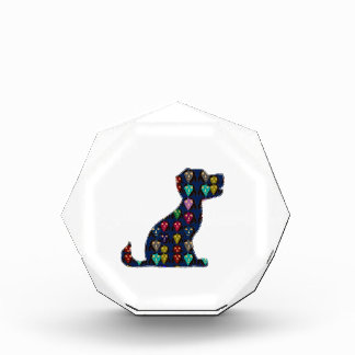 CUTE puppy dog pet dot painted NVN92 navinJOSHI FU Acrylic Award
