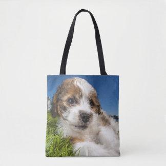 Cute puppy dog (Shitzu) Tote Bag