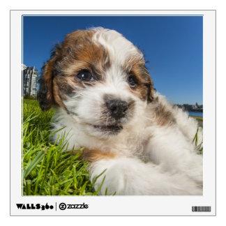 Cute puppy dog (Shitzu) Wall Sticker