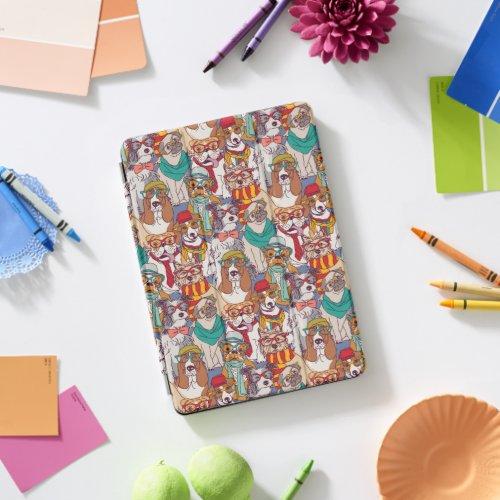 Cute Puppy Fashion Pattern iPad Pro Cover