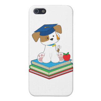 Cute Puppy Graduate Covers For iPhone 5
