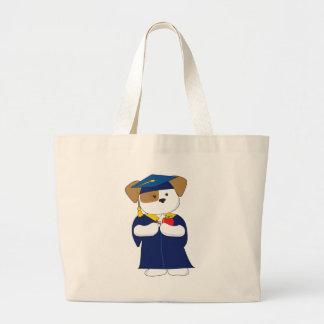 Cute Puppy Graduation Bag
