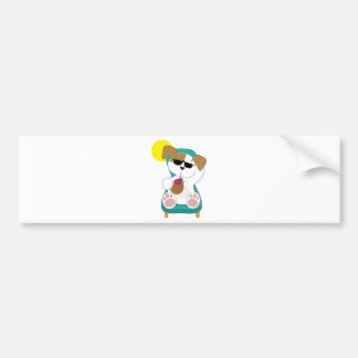 Cute Puppy Holiday Bumper Stickers