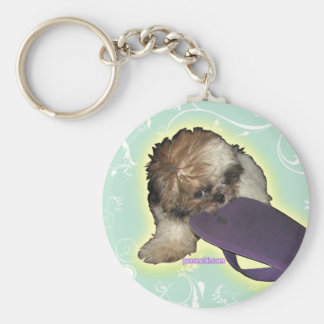 Cute Puppy Keychain