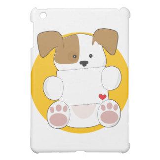 Cute Puppy Letter iPad Mini Case