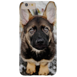 Cute Puppy Looking Up Barely There iPhone 6 Plus Case