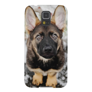Cute Puppy Looking Up Case For Galaxy S5
