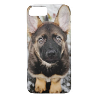 Cute Puppy Looking Up iPhone 8/7 Case