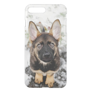 Cute Puppy Looking Up iPhone 8 Plus/7 Plus Case
