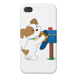 Cute Puppy Mail iPhone 4/4S Cases