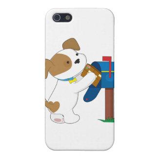Cute Puppy Mail iPhone 5/5S Case