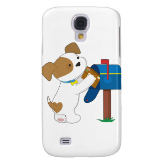 Cute Puppy Mail Samsung Galaxy S4 Case