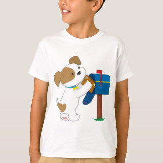 Cute Puppy Mail T-Shirt