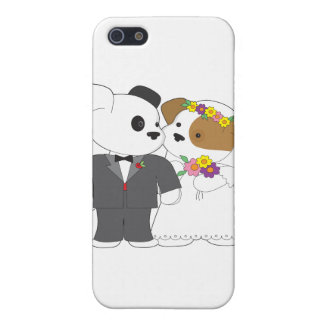 Cute Puppy Marriage iPhone 5 Cover