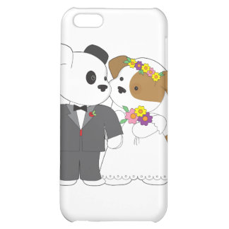 Cute Puppy Marriage iPhone 5C Cover