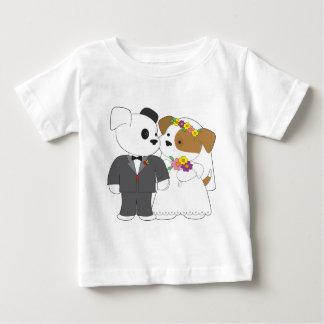 Cute Puppy Marriage Tshirts