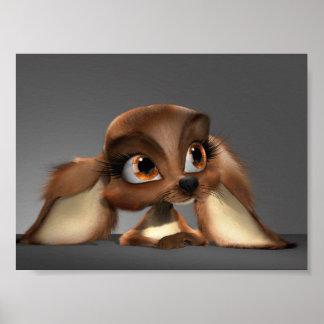 Cute Puppy Mini Poster