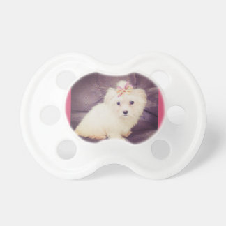 Cute puppy paci for baby 0-3 pacifier