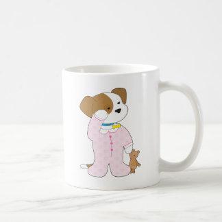 Cute Puppy Pajamas Coffee Mug