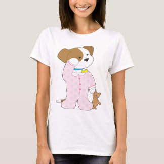 Cute Puppy Pajamas T-Shirt