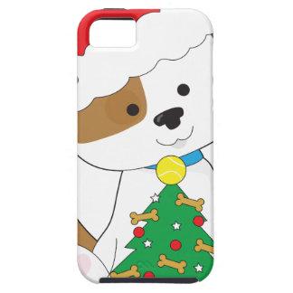Cute Puppy Santa iPhone SE/5/5s Case