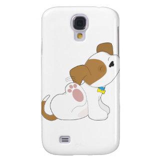 Cute Puppy Scratching Samsung Galaxy S4 Case