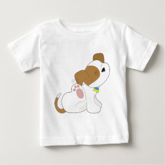 Cute Puppy Scratching Shirt