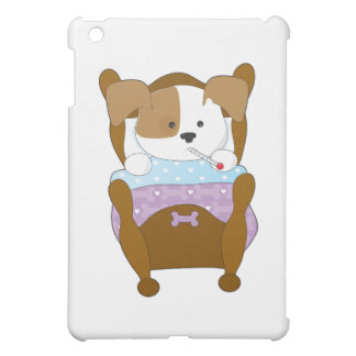 Cute Puppy Sick Cover For The iPad Mini