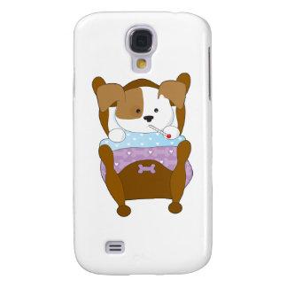 Cute Puppy Sick Galaxy S4 Covers