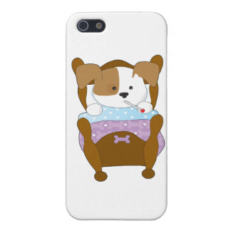 Cute Puppy Sick iPhone 5 Case