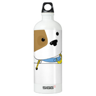 Cute Puppy Sign Water Bottle