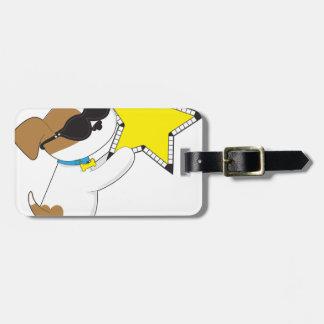 Cute Puppy Star Travel Bag Tag