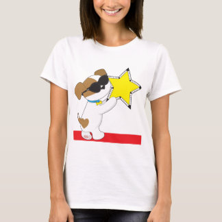 Cute Puppy Star T-Shirt