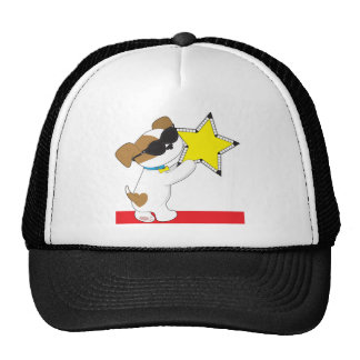 Cute Puppy Star Trucker Hat