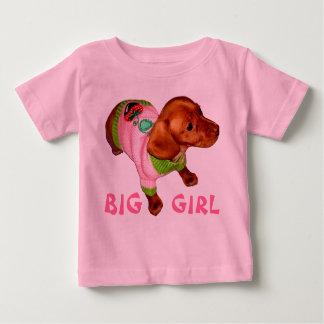 Cute Puppy T Shirt for Girls Dachshund Baby Stuff