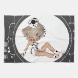 Cute Puppy Toon Hand Towels