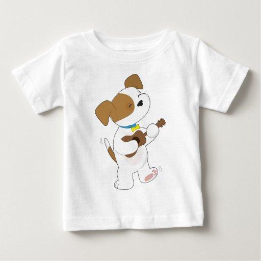 Cute Puppy Ukulele Shirt