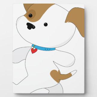 Cute Puppy Walker Plaque