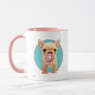 Cute Puppy with Pacifier Mug