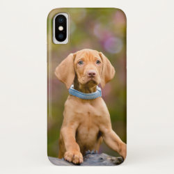 Case-Mate Barely There iPhone X Case with Vizsla Phone Cases design