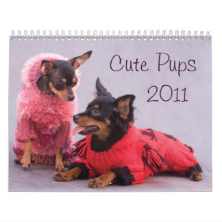 Cute Pups 2011 Calendar